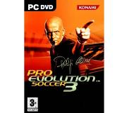 Pelit: Konami - Pro Evolution Soccer 3, PC