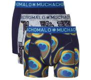 Muchachomalo 3-Pack Proud As A Peacock-S (Blauw, S)