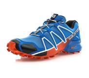 Salomon SPEEDCROSS 4 Hardloopschoenen trail blue yonder/black/lava orange 44