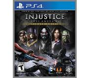 Games Warner Bros - Injustice: Gods Among Us Game of the Year Edition, Playstation 4 Version de base+module complémentaire+contenu téléchargeable PlayStation 4