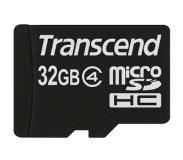 Transcend TS32GUSDC10 32GB MicroSDHC Class 10 flashgeheugen