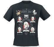 The Witcher 3 Shaves And A Haircut T-shirt zwart