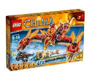 LEGO Chima 70146 Lentävän feeniksin tulitemppeli