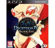Role Playing Game (RPG) Deception IV, Blood Ties  PS3 (PlayStation 3)