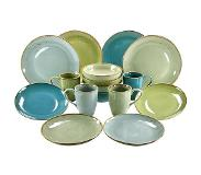 Creatable 16-delig servies Nature Collection Creatable multicolor