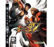 Actie; Vecht Capcom - Street Fighter IV (PlayStation 3)