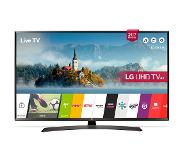 "LG 43UJ634V 43"" 4K Ultra HD Smart TV Wi-Fi Musta LED-televisio"
