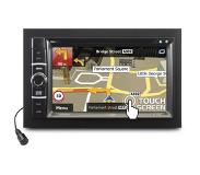 Caliber RDN802BT - 2 Din Autoradio met navigatie - 6,2 inch TFT-LCD touchscreen - CD/DVD speler - USB/SD/AUX & Bluetooth