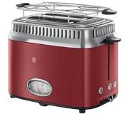 Russel Hobs Russell Hobbs Toaster Retro Red 21680-56