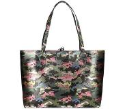 GUESS Bobbi Inside Out Tote green camo