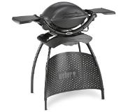 Weber Q1400 elektrische barbecue - dark grey - stand
