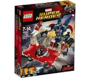 LEGO Marvel Super Heroes 76077 Iron Man: Detroit Steel valt aan