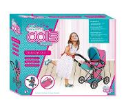 Basic Dolls Room 3in1 Poppenwagen