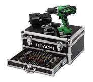 Hitachi DS14DJL Boormachine met pistoolgreep Lithium-Ion (Li-Ion) 1.5Ah 1600g Zwart, Groen accu boor-schroef machine