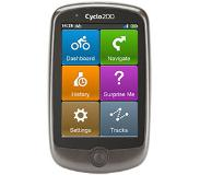 "Mio Cyclo 200 Handheld/Fixed 3.5"" Touchscreen 146g Zwart, Grijs"