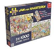 Jumbo Jan van Haasteren 2in1 Eet- en Bakfestijn met Ovenwant