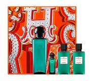 Hermes Eau D'orange Verte gift set 100 ml eau de cologne + 7.5 ml mini eau de cologne + 40 ml shower gel + 40 ml body lotion