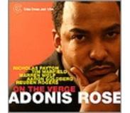 cd Adonis Rose - On The Verge