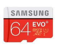 Samsung MicroSD EVO+ 64GB Class10 R80/W20 +Adapter