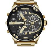 Diesel DZ7333 Mr.Daddy 2.0 Black Gold herenhorloge