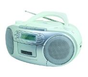 Soundmaster SCD7900WE Portable CD player Wit CD-speler/recorder