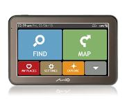"Mio Spirit 7500 LM Handheld/Fixed 5"" Touchscreen 158g Olijf navigator"