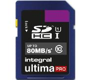 Integral 16GB SDHC UltimaPro flashgeheugen Klasse 10 UHS-I