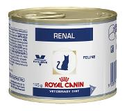 Royal Canin 24 x 195 g Royal Canin renal kip - veterinary diet kattenvoer kattenvoer