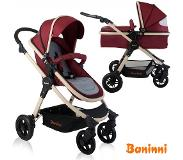 Baninni 3-in-1 Kinderwagen Ayo Misty Red BNST011-RD