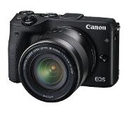 Canon EOS M3 + 18-55mm STM + EVF-DC1 zoeker