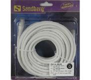 Sandberg 15 metrin UTP Cat6 RJ45 -verkkokaapeli 10/100/1000 Mbit