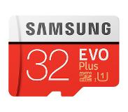Samsung EVO Plus MB-MC32G 32GB MicroSDHC UHS-I Luokan 10 flash-muisti