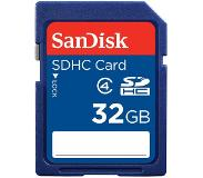 Sandisk SD 32GB 32GB SDHC flash-muisti