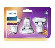 Philips classic GU10 warm wit 3-pack