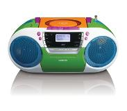 Lenco SCD-681 Portable CD player Multi kleuren cd-speler