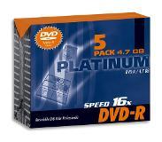 Verbatim DVD-R 4.7GB, 5 Pcs.