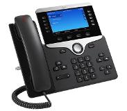 Cisco 8841 Wired handset Noir, Argent