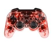 White Label PDP Afterglow Wireless PlayStation 3-controller - rood