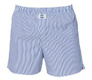 Deal Boxershort, Stripe Blue 100%, Small (Blauw, Wit, S)