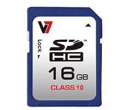 V7 SDHC Memory Card 16GB Class 10