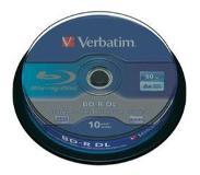 Verbatim BD-R DL 50GB 6X 10PK