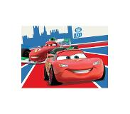 Disney Pixar Cars Disney Cars McQueen en Francesco Speelkleed 95x133cm