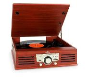 Auna TT-92W Belt-drive audio turntable Kirsikka, Puu