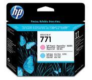 HP 771 licht-magenta/licht-cyaan Designjet printkop