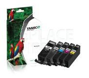 Yanec YIN022 PGI-525BK + CLI-526CMYK