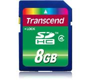 Transcend TS8GSDHC4 8GB SDHC flashgeheugen