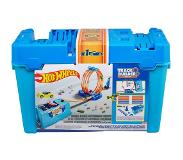 Mattel Hot Wheels Track Builder Looping Challenge stunt box