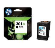 HP 301XL -mustesäiliö, musta