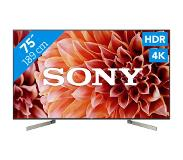 "Sony KD-75XF9005 LED TV 190,5 cm (75"") 4K Ultra HD Smart TV Wi-Fi Zwart"