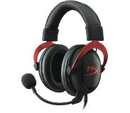 Kingston Technology HyperX Cloud II Gaming Headset - Red